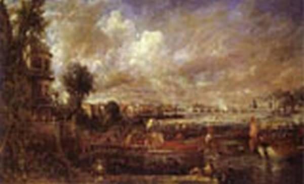 Whitchall stairs june 18th 1817 of waterloo bridge 1832 xx tate gallery london uk